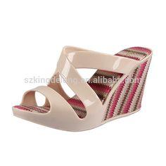 nuovo 2015 moda pvc tacco alto zeppa sandali gelatina per le donne-Pantofole-Id prodotto:60125410323-italian.alibaba.com
