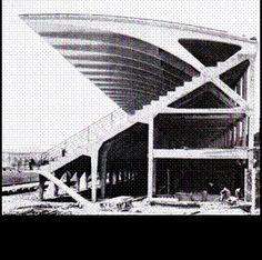 Pier Luigi Nervi, stadio di Firenze, 1930
