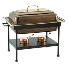 Old Dutch International 8 qt. Rectangular Chafing Dish in Antique Copper - BedBathandBeyond.com