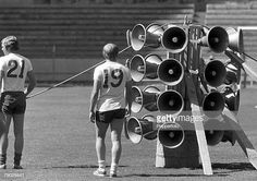Sport Football England in Mexico 1970 World Cup Finals June 1970 England's Bobby Moore and Francis Lee are faced by the stadium public address system. 1970 World Cup, Stock Pictures, Stock Photos, Bobby Moore, World Cup Final, Bbc Broadcast, Sport Football, Finals