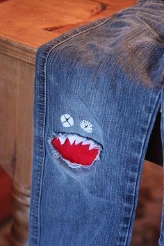 Okay, so if I could just figure out how to sew...I love this idea.