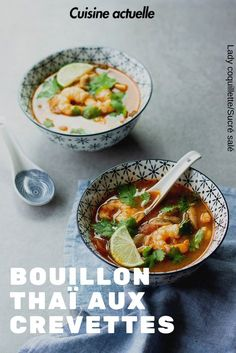 Easy Smoothie Recipes, Kale Recipes, Easy Soup Recipes, Coconut Recipes, Good Healthy Recipes, Thai Recipes, Shrimp Recipes, Asian Recipes, Snack Recipes
