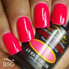 Bio Seaweed gel - Watermelon #69 - bright pink