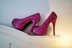 New wedding shoes flats purple sparkle ideas Glitter High Heels, Sparkle Shoes, Purple Sparkle, Sparkly Heels, Purple Rain, Tumblr, Cute Shoes, Me Too Shoes, Purple Pumps