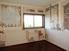 Little Hands Wallpaper Mural - The wallpaper can be ordered in various sizes. We are like tailors, the wallpaper will fit perfectly on your wall, you just have to give us the measures you need! Little Hands Wallpaper, Bedroom Wallpaper, Kids Bedroom, Valance Curtains, Boy Or Girl, Walls, Nursery, Wallpapers, Boys