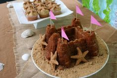 'Sandcastle' Cake