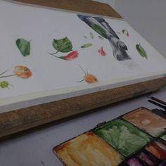 Trabalho final em progresso. Final work in progress. . . . . . . . . . #art #illustration #aquarela #watercolor #drawing #draw #picture #photography #artist #sketch #sketchbook #paper #pen #pencil #artsy #instaart #rascunho #instagood #desenho #arte #rascunho #gallery #masterpiece #creative #photooftheday #instaartist #graphic #graphics #artoftheday