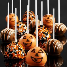 Halloween cake pops! Making them this Halloween