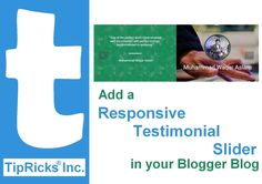 Add a Responsive Testimonial Slider in Your Blog/Website