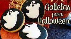 Galletas para halloween decoradas con glasa real - YouTube