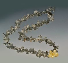 John Iversen - hydrangea necklace