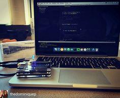 #nerdygirl #nerdingout #lifeofasoftwareengineer #programmer #dev #lettherebecode #javascript #johnnyfive #arduino #nodejs #lunchnlearn #Regrann  #programmer #programming #coding #code #coder #computerscience #developer #codingquotes #tech #setup #apple #macbook #buildtheweb