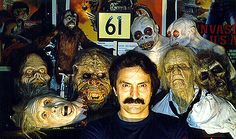 My idol ! Real Horror, Horror Show, Horror Movies, Tom Savini, Makeup Masters, The Magnificent Seven, Sfx Makeup, Special Effects, Behind The Scenes