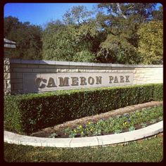 Beautiful Cameron Park in Waco, TX