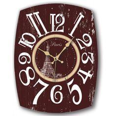 Ahşap Paris Eskitme Dekoratif Duvar Saati Modeli, Ahşap Paris Eskitme Dekoratif Duvar Saati Modeli Ürün Bilgisi ;Ürün maddesi : MDF Ebat   : 32 x 4