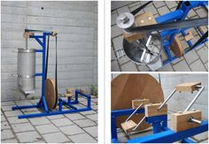 when lowtech goes ikea - DIY pedal powered juicer