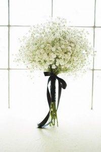 Babies Breath bridesmaid bouquet. Lenin Glass Photo | EMERSON EVENTS  #wedding #babiesbreath