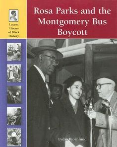 Rosa Parks and the Montgomery Bus Boycott Bus Boycott, Rosa Parks, Civil Rights Movement, Bus Driver, December, History, Reading, Books, Historia