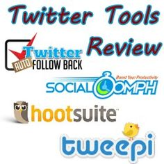Twitter Tools to Auto Follow, Unfollow and Find Fake Followers