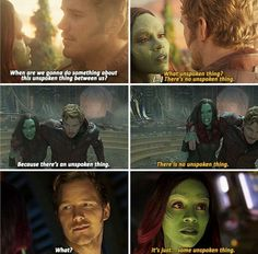 Peter x Gamora Marvel E Dc, Marvel Avengers, Marvel Comics, Gaurdians Of The Galaxy, Guardians Of The Galaxy Vol 2, Funny Marvel Memes, Marvel Jokes, Starlord And Gamora, Superhero Movies