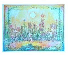 Gross Arnold mesevilágának képei a Café Zaccban Anna, Fairy Land, Diagram, Colours, Map, World, Illustration, Artwork, Cute