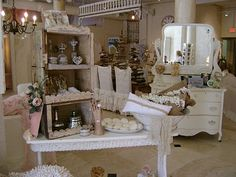 Original Pinner said: Just visited this store in Sarasota, FL.  In LOVE with it!  So cute and shabby chic.Me: It's Posh on Palm. Love this store!