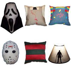 Horror movie cushions :)