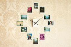 Cute DIY Room Decor Ideas for Teens - DIY Bedroom Projects for Teenagers - DIY Photo Wall Art Clock