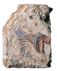Fragmento de adaraja perteneciente a una cúpula de mocárabes. Segundas taifas: 1147-1172. Ayuntamiento de Murcia
