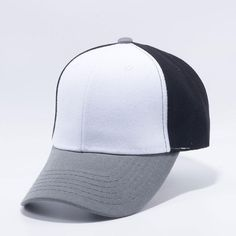 Big Bear Blank Baseball Caps Wholesale  Grey White Black  95d298a3d9af