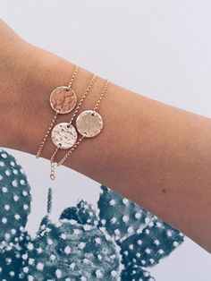 I can't tell if this is 3 bracelets or but I think it's beautiful all the same. I love the combo of yellow gold, silver, and rose gold. Bijoux Design, Schmuck Design, Jewelry Design, Bling Bling, Cute Jewelry, Jewelry Box, Gold Jewelry, Jewlery, Irish Jewelry