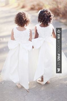 So cool! - flower girl dresses | CHECK OUT MORE GREAT FLOWER GIRL AND RING BEARER PHOTOS AND IDEAS AT WEDDINGPINS.NET | #weddings #wedding #flowergirl #flowergirls #rings #weddingring #ringbearer #ringbearers #weddingphotographer #bachelorparty #events #forweddings #fairytalewedding #fairytaleweddings #romance