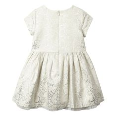 Esprit Girls rose print sparkle dress-   Debenhams