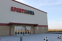 SportsIowa, located at 2176 232nd Lane, opened to the public Wednesday. Photo by Grayson Schmidt/Ames Tribune  http://amestrib.com/news/new-sportsiowa-indoor-facility-opens-wednesday
