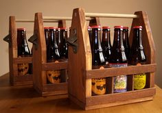 Make a DIY beer caddy
