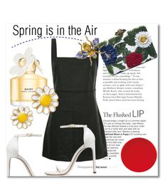 """Spring is in the Air"" by stylemaven2 ❤ liked on Polyvore featuring Stuart Weitzman, Venroy, Oscar de la Renta, AZ Collection, Marc Jacobs and Spring"