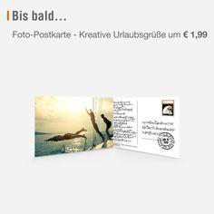 Postkarte statt WhatsApp! Gestalten Sie Ihre persönliche Foto-Postkarte - die Ausarbeitung und Zustellung übernehmen wir! Kreative Urlaubsgrüße um 1,99 Euro! #postkarte #urlaub #sommer