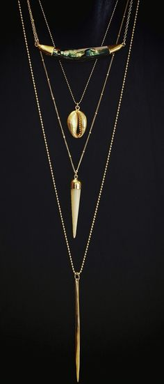 layered chains | kei jewelry