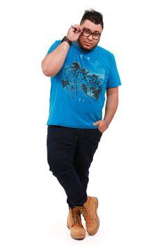 Calça e T.shirt Plus Size