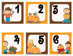 Kickin' It With Class: Fall Calendar Numbers Preschool Calendar, Teaching Calendar, Classroom Calendar, Classroom Freebies, Classroom Decor, Study Calendar, Calendar Time, Kids Calendar, Free Calendar
