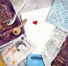 illustrator-blog-watercolour-passport-keys-heart-paint.jpg (600×587)