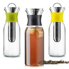 Eva Solo ijstheemaker: heerlijk om groene thee met honing en citroen mee te maken!!!