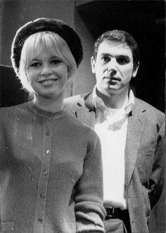 Miss Brigitte Bardot & Robert Hossein