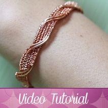 bracciale vineta Wire Wrapping, Choker, Bracelets, Tutorial, Jewelry, Neck Choker, Jewlery, Bijoux, Schmuck