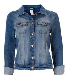 Gina Tricot - Angelique denim jacka Gina Tricot, Mode Online, Denim, Clothes, Spring, Inspiration, Fashion, Jackets, Kleding