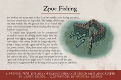 February 16: Fish for Food with Lauren Wilson's Zpoc Fishing guide from The Art of Eating Through the Zombie Apocalypse. Plus a recipe + #giveaway! #ZpocWinter