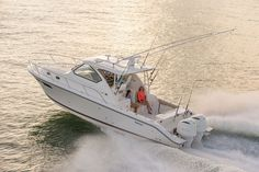 Pursuit is turning heads with the new OS 355 fishing boat.