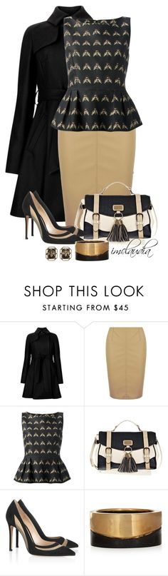 """""""Bumble Bees"""" by imclaudia-1 ❤ liked on Polyvore featuring Ted Baker, Dorothy Perkins, Mother of Pearl, River Island, Gianvito Rossi, Marni, women's clothing, women, female and woman"""