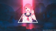 Anime wallpaper, anime girls, glitch art, picture-in-picture, front view • Wallpaper For You HD Wallpaper For Desktop & Mobile