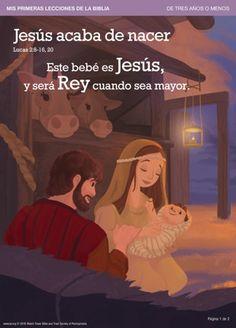 Jesús acaba de nacer | Mis primeras lecciones de la Biblia